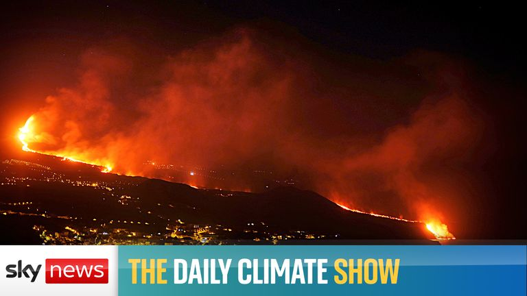 On the Daily Climate Show, we explore the impact of lava from the volcano on La Palma reaching the sea as residents are warned about toxic gases. Plus, our guests debate whether a Labour government would be better for the planet.
