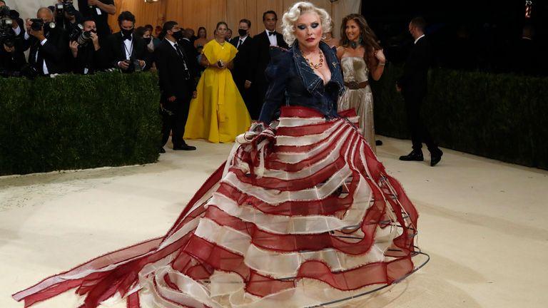 Debbie Harry. - Metropolitan Museum of Art Costume Institute Gala - Met Gala - In America: A Lexicon of Fashion - Arrivals