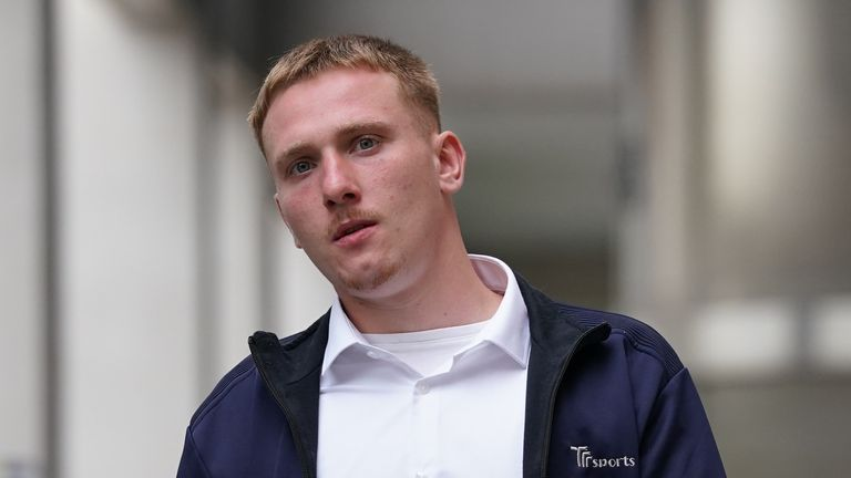 Perry Ogle, 23, pleaded guilty to conspiracy to steal a number of luxury vehicles