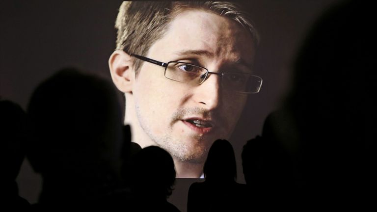 The revelations of Edward Snowden showed the extent of the US's surveillance state. Pic: AP