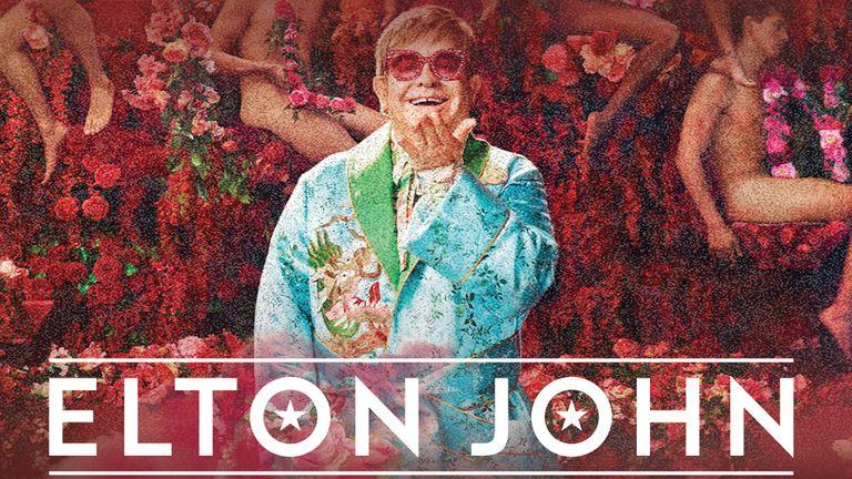 Sir Elton is on his farewell tour