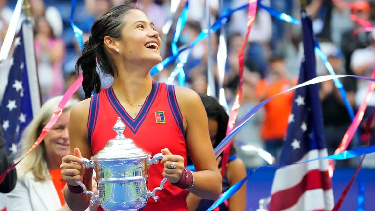 The 18-year-old is certain to see her ranking continue to improve