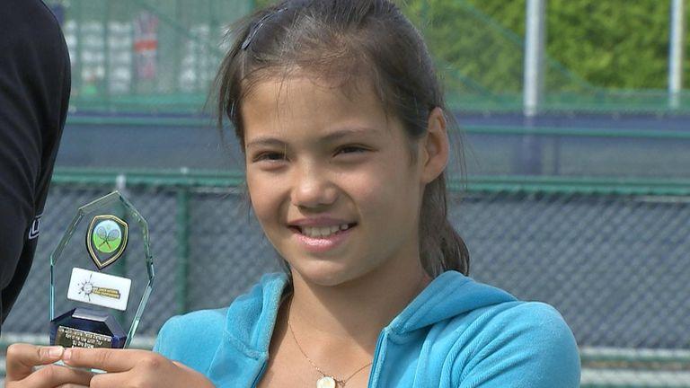 Emma Raducanu secures second place at Junior Tennis Championship in 2014