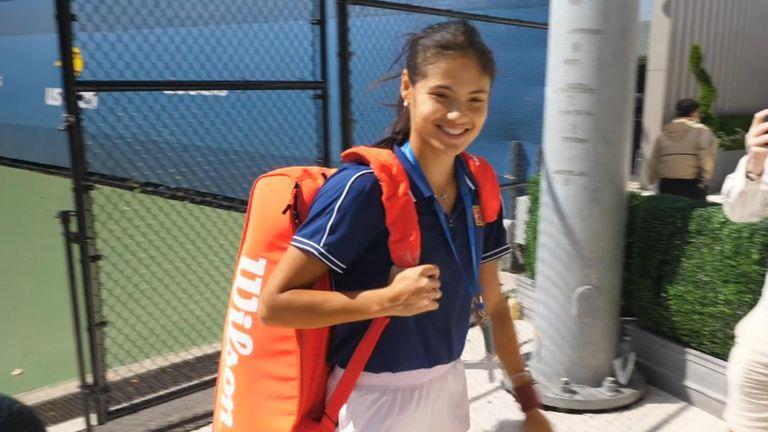 Raducanu feeling 'good' ahead of US Open women'sfinal