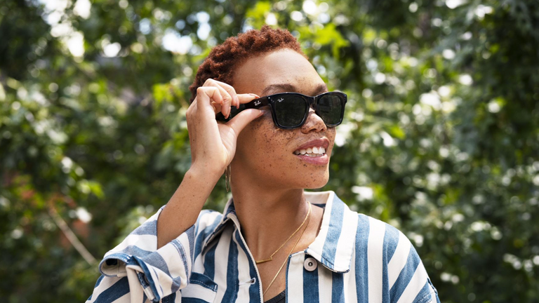 Ray-Ban and Facebook designed the glasses together