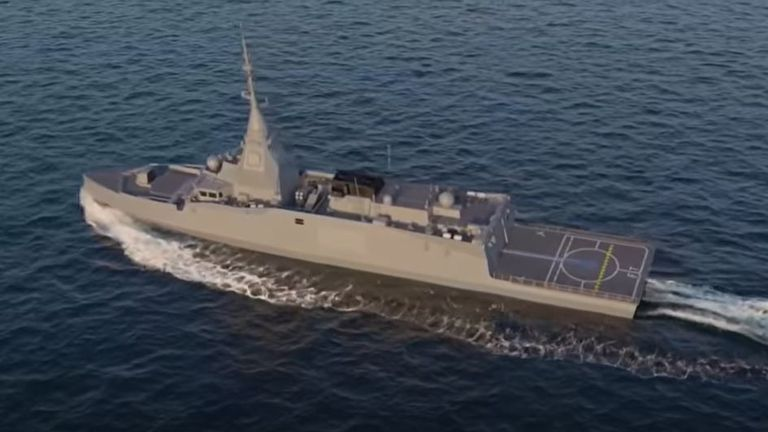 The FDI-class frigate made by Naval Group said by press reports to have been bought by the Greeks