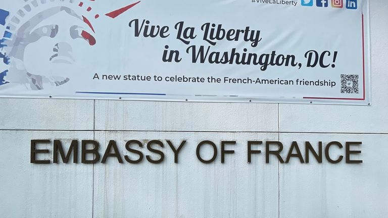 The French Embassy in Washington DC