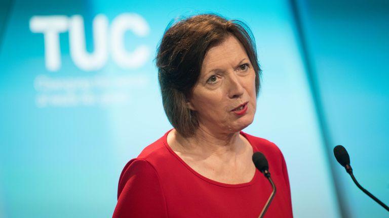 rances O'Grady, General Secretary of the TUC