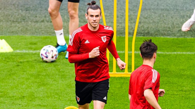 Welsh captain Gareth Bale also spoke out against racism.  Photo: A.P.
