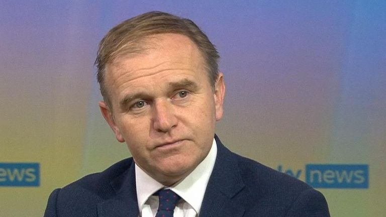 George Eustice spoke to Kay Burley about the CO2 crisis
