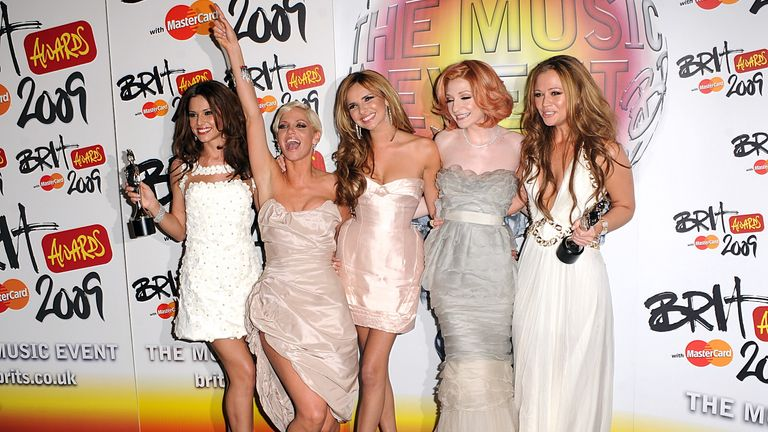 Girls Aloud won the Brit award for best single in 2009, for The Promise. Sarah Harding described it as one of the biggest moments of her life