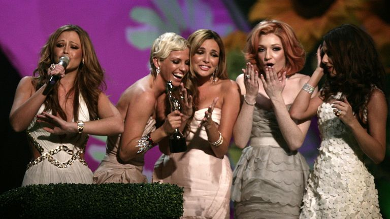 Girls Aloud won the Brit award for best single in 2009, for The Promise