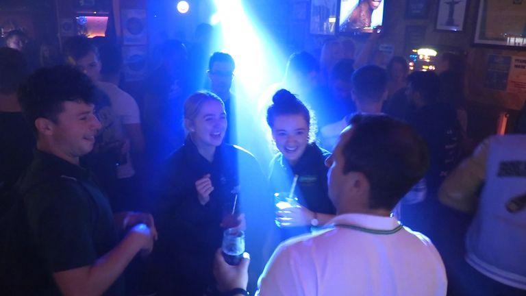 Revellers enjoy themselves at Boteca do Brasil nightclub in Glasgow (file pic)