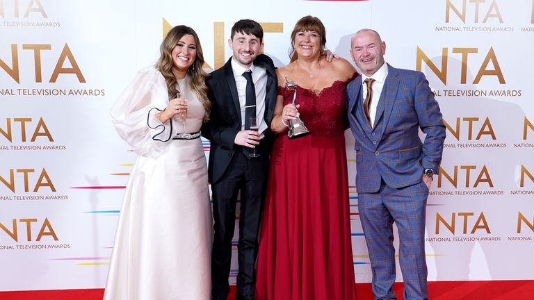 Gogglebox won the nation's heart in the factual category