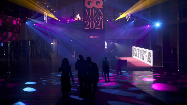 Tate Modern is pictured during the GQ Men Of The Year Awards 2021, in London, Britain September 1, 2021. REUTERS/Henry Nicholls