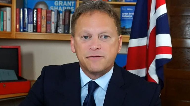 Grant Shapps urges petrol buying customers to 'carry on as normal'