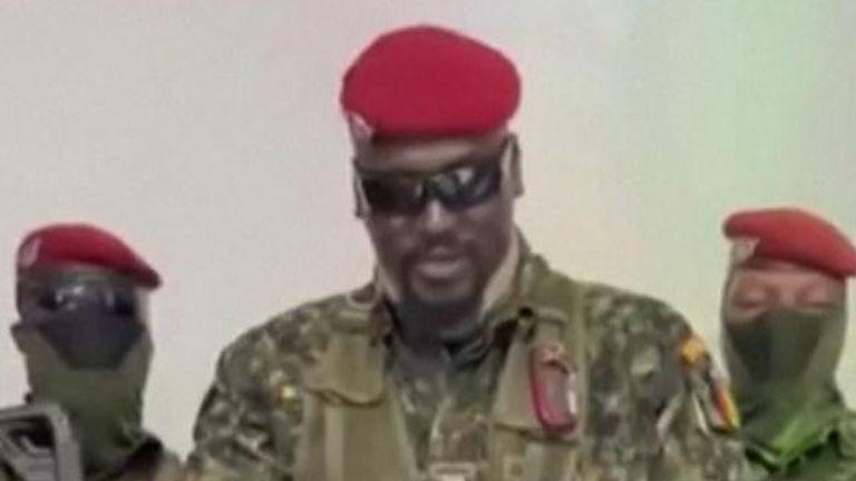 Colonel MamadyDoumbouya