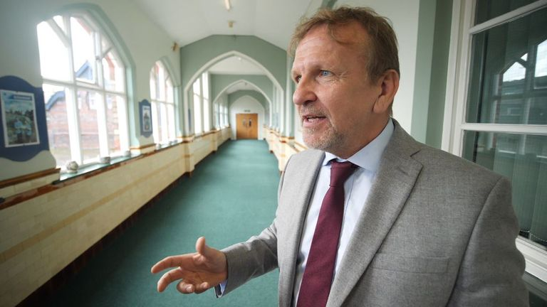 Headteacher Dr John Paterson