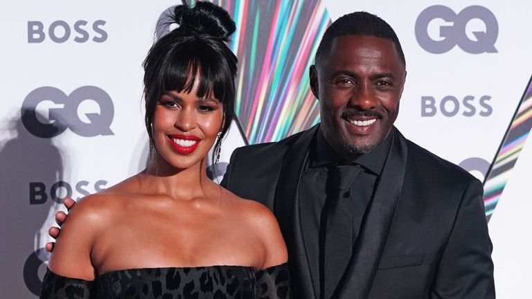 Idris and Sabrina Dhower Elba hosted the  event