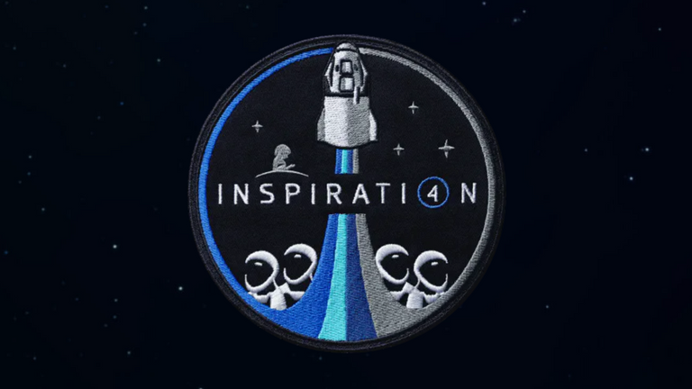 The Inspiration4 mission badge