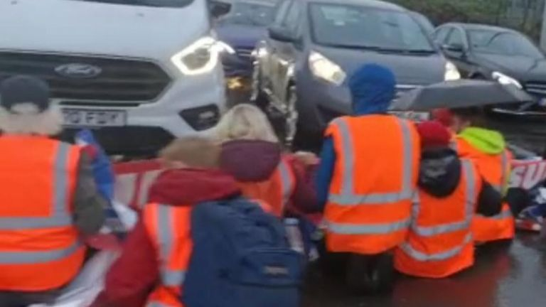 Insulate Britain protests on M25