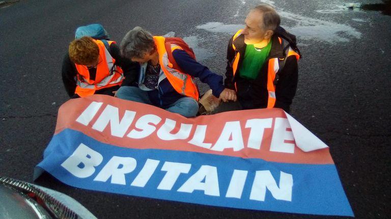 Pic: Insulate Britain