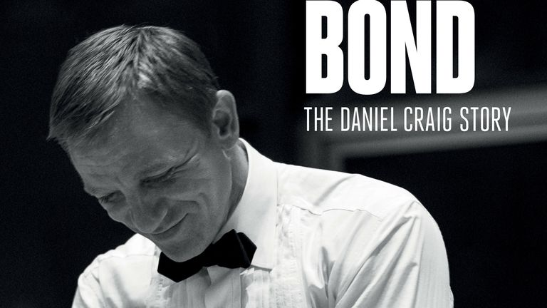 Daniel Craig in the Being James Bond documentary. Pic: Apple TV