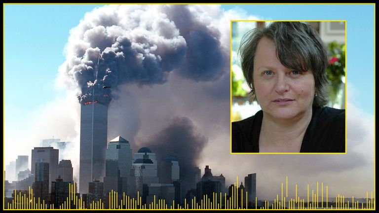 Janice Brooks was on the 84th floor of the South Tower when planes hit the World Trade Center on 11 September 2001