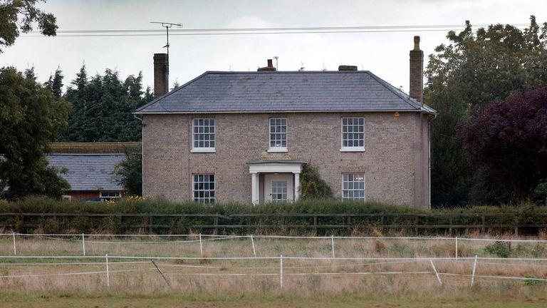White House Farm near Maldon, Essex, where the murders took place