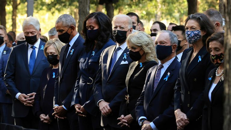 9/11 anniversary in pictures: Victims remembered 20 years after terror attacks | US News