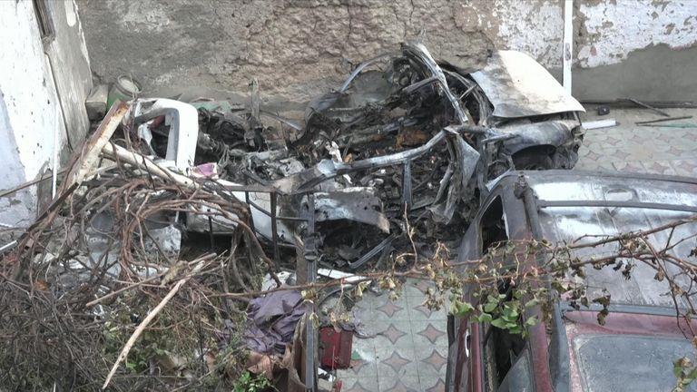 kabul drone strike 29 august