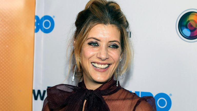 Kate Walsh is returning to Grey's Anatomy as Dr Addison Montgomery. Pic: Andy Kropa/Invision/AP
