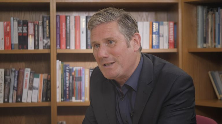Labour leader Keir Starmer discusses the party's views on social care.