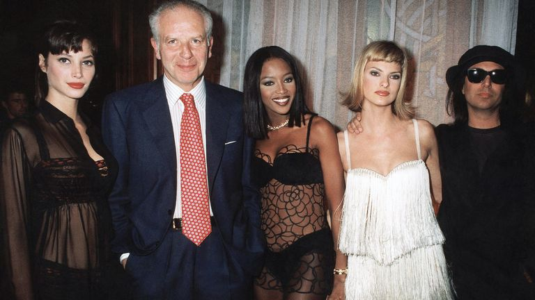 Linda Evangelista was sent messages of support from her fellow supermodel friends, inclduing Christy Turlington and Naomi Campbell