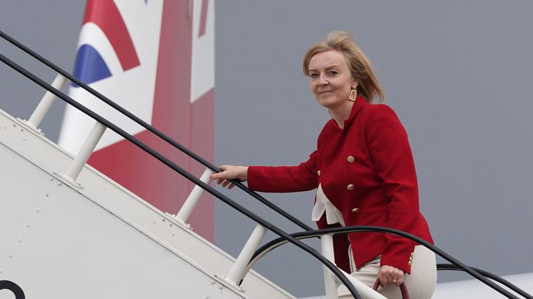 Liz Truss will travel to Mexico from New York, where she has been representing the UK alongside Boris Johnson