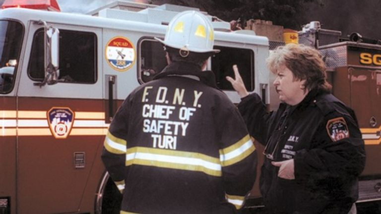 Lynn Tierney was a deputy commissioner at New York City Fire Department. Pic: NYC Fire Department