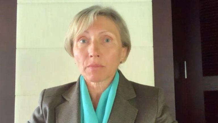 Alexander Litvinenko's wife, Marina Litvinenko