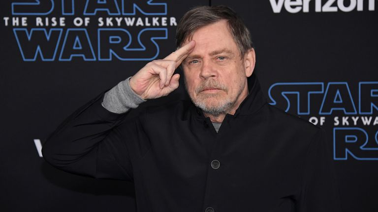 Mark Hamill's tweet has gone viral, receiving thousands of likes, retweets and quote tweets