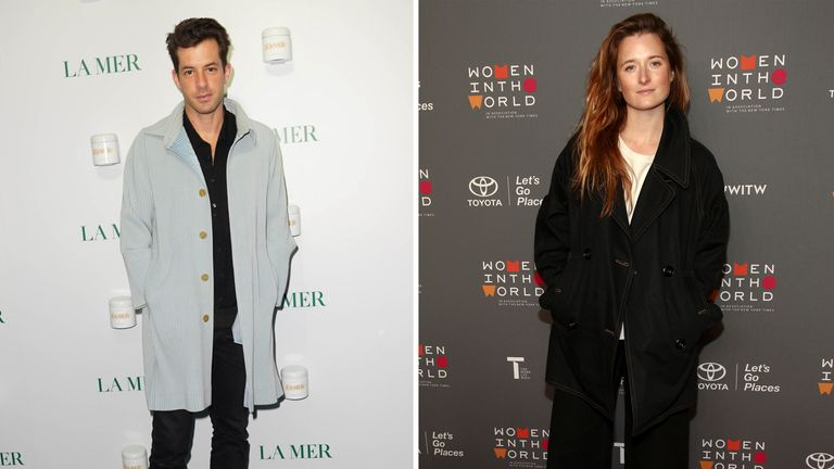 Mark Ronson and Grace Gummer have tied the knot. Pic: John Nacion/STAR MAX/IPx and Andy Kropa/Invision/AP