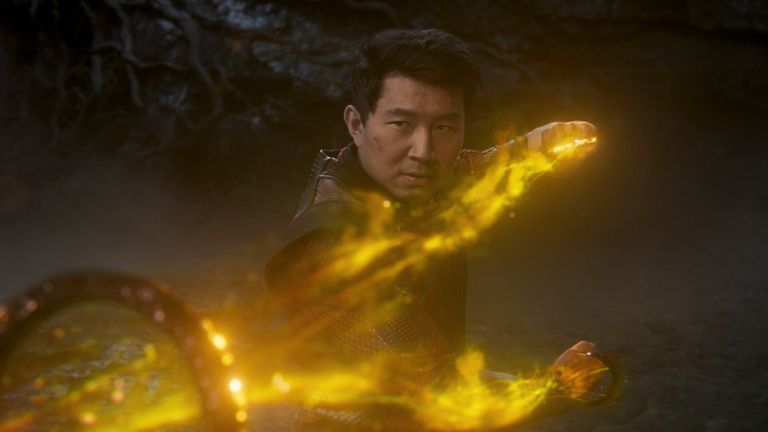 Shang-Chi (Simu Liu) in Marvel Studios' SHANG-CHI AND THE LEGEND OF THE TEN RINGS. Photo courtesy of Marvel Studios. ..Marvel Studios 2021.