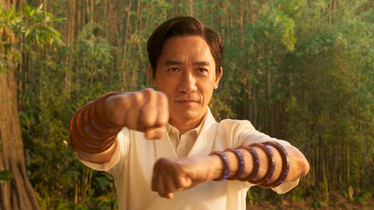 Wenwu (Tony Leung) in Marvel Studios' SHANG-CHI AND THE LEGEND OF THE TEN RINGS. Photo courtesy of Marvel Studios. ..Marvel Studios 2021. All Rights Reserved.