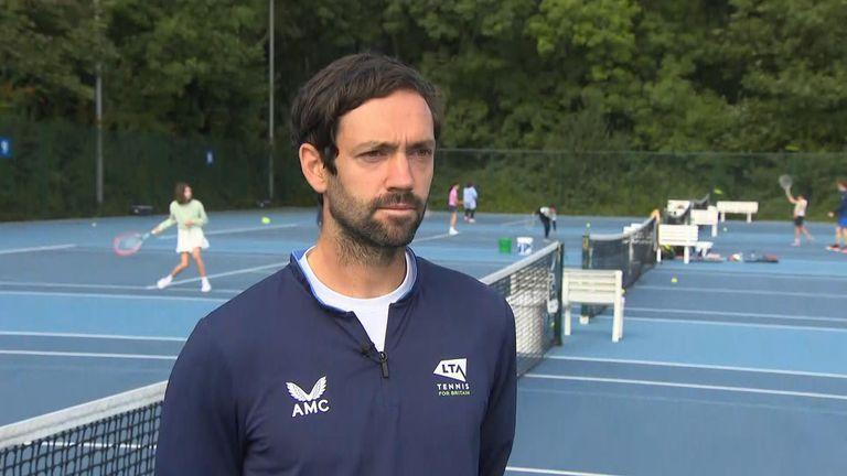 Matt James coached Emma Raducanu for two years