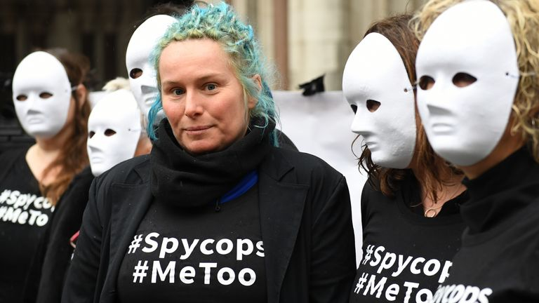 Activist Kate Wilson was deceived into a relationship with an undercover police officer
