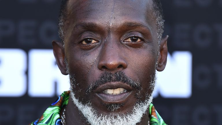 Michael K. Williams was found dead at his home. Pic: AP