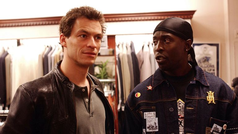 Dominic West and Michael K Williams in The Wire. Pic: Moviestore/Shutterstock