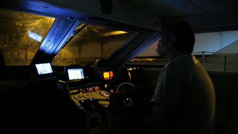 Most migrant crossings happen at night