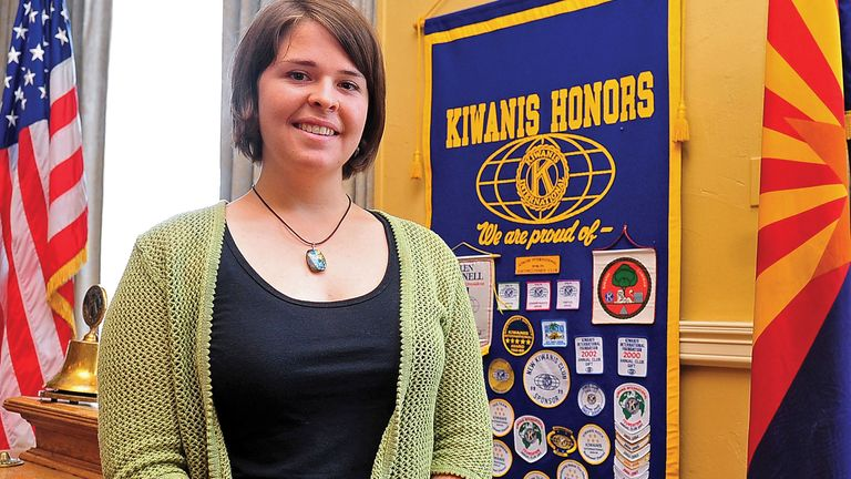 Kayla Mueller, an aid worker from Prescott, was kidnapped in Syria in 2013, held hostage by Islamic State militants and killed in February. Her death put another human face on the toll of the violence brought on by Islamic State. Pic: AP/The Daily Courier, Matt Hinshaw
