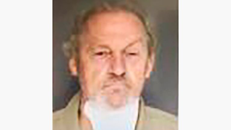 Curtis Edward Smith was charged with assisted suicide, insurance fraud and several other counts in the Sept. 4 shooting of Alex Murdaugh. Pic: Colleton County Detention Center via AP