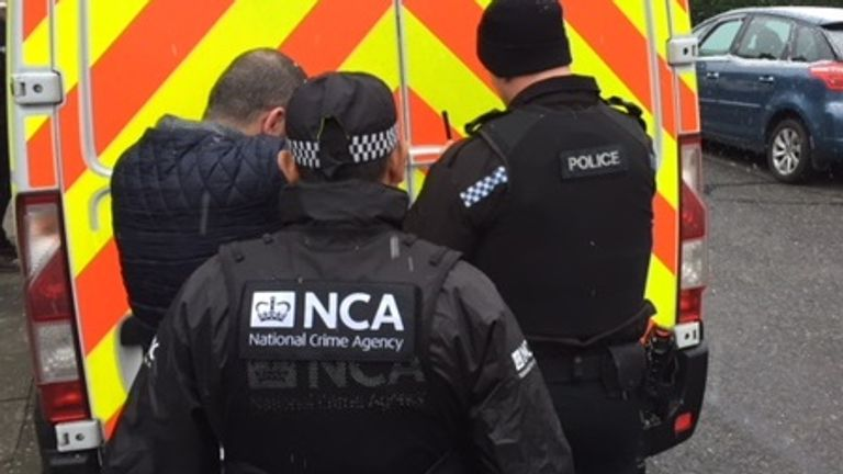 The men, aged between 27 and 47, will appear before the Newcastle Magistrates' Court on Thursday. Pic National Crime Agency
