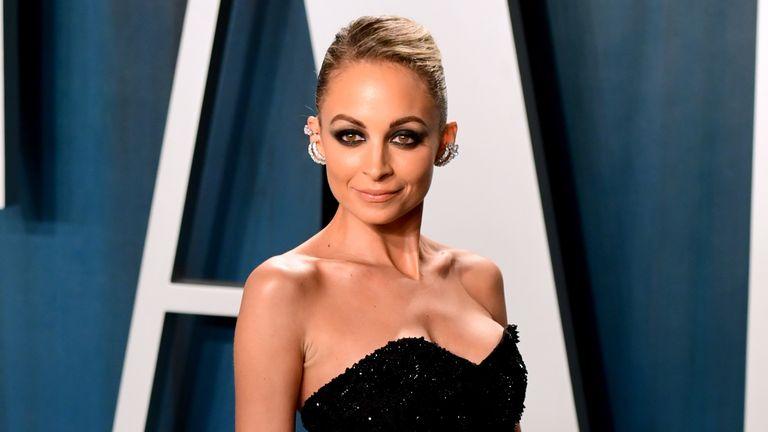Nicole Richie attending the Vanity Fair Oscar Party